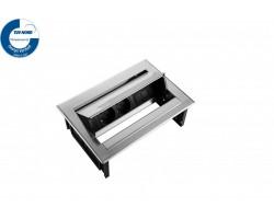 PowerDesk-In 2x230v + 1xKeystone inbouwunit