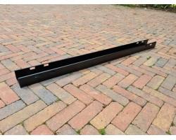 JOB kabelgoot zwart 140cm (vaste lengte)