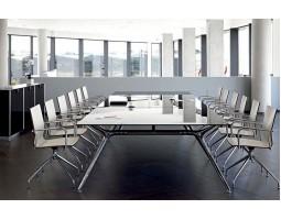 Vierkante Arkitek vergadertafel