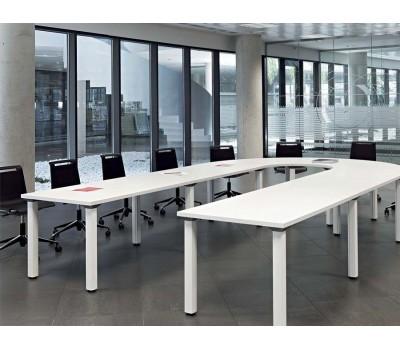 Cool hoefijzer grote vergadertafel