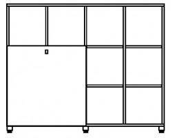 Cubic kast 12 vakken