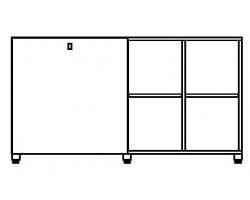 Cubic kast acht vakken