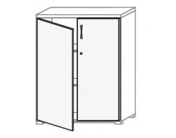 Kastdeur 113 cm hoog