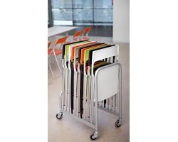 Trolley voor tien Plek stoelen