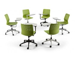 Urban basic bureaustoel met tafel