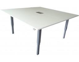Vierkante verstelbare vergadertafel