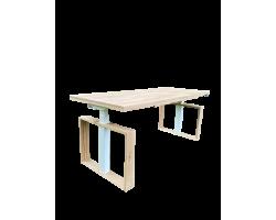 Wood it be Square - Zit sta bureau