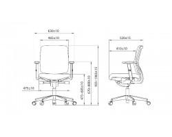 JOB ergo bureaustoel A400 Mesh
