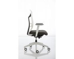 JOB ergoBack wit bureaustoel