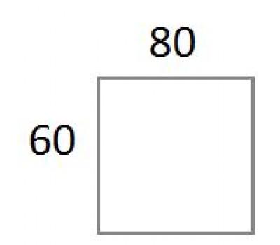 Blad 60x80 cm