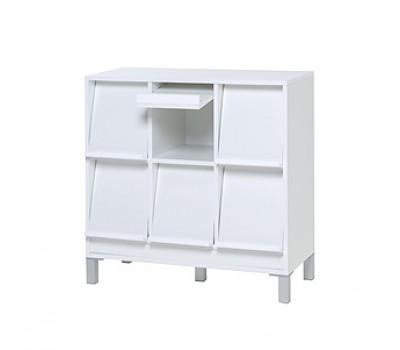 Baseline display zes vakken kast