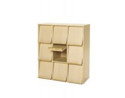 Baseline display negen vakken kast