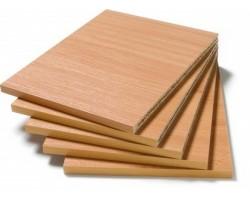 Set van vijf legborden voor vakkenkast Baseline