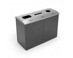 Hampton Recycle bin trio